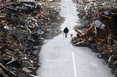 Japan tsunami and earthquake damage #japan #tsunami #earthquake