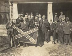 A confederate reunion featuring black confederate veterans