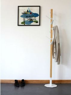 love this coat stand from pedersen and lennard