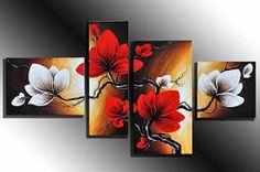 kanvas tablo çiçek ile ilgili görsel sonucu