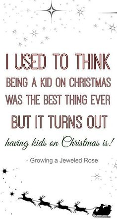 christmas with kids, I love it!