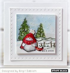 This week we welcome Birgit Edblom to our blog, bringing us her one-of-a-kind card ideas as well as tips and hints as to how she created her masterpieces featuring our new collections, Be Merry and…