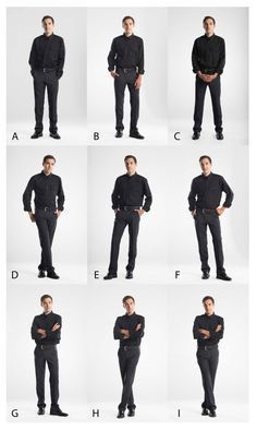 Unlike feminine poses, masculine poses avoid softening the pose with rounded shoulders or exaggerated shoulders, hips, and legs. poses for men Posing Charts for Photographers - RockyNook Pose Portrait, Portrait Photography Poses, Photography Ideas, Portrait Photographers, Photography Women, Photography Equipment, Outdoor Photography, Mobile Photography, Photography Outfits
