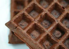 CHOCOLATE WAFFLES  1 package Ideal Protein Chocolate Pancake & Muffin Mix 1 Egg 1/4 cup cold water 1/4 teaspoon baking powder Mix in a bowl and cook on a waffle iron. By: Ideal Protein Weightloss Center of Fayetteville