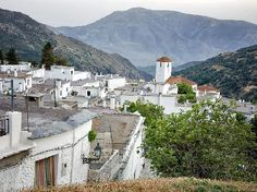 Capileira, Alpujarras a great starting point for mountain walking.  The Sierra Nevada National Park has a bus from Capileira into the high mountains.  Use it to climb Mulhacen during the summer months.