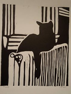 Exceptional how to remove tips are offered on our internet site. Woodcut Art, Linocut Prints, Linoleum Block Printing, Japanese Cat, Cat Decor, Cat Drawing, Woodblock Print, Cat Art, Printmaking