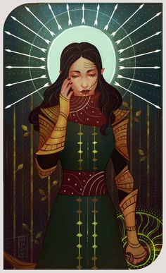 The Moon by Mezamero on deviantART: My character from Dragon Age Inquisition - Sorra Lavellan