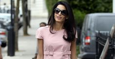 Style Lessons from Amal Clooney via @PureWow