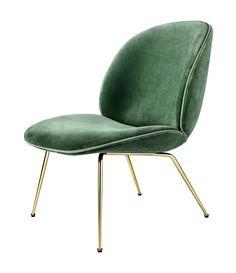 GUBI // Beetle Lounge Chair by GamFratesi - news 2015
