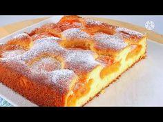 И ТОРТА НЕ НОДО! ЗА КОПЕЙКИ В ДВА РАЗА ВКУСНЕЕ ШАРЛОТКИ! ЕШЬ ЕГО И ПЛАЧЕШЬ ОТ ВОСТОРГА! ТАЕТ ВО РТУ! - YouTube Bread Recipes, Baking Recipes, Dessert Recipes, My Favorite Food, Favorite Recipes, Cupcake, Coffee Cake, Baked Goods, Bakery