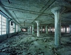Detroit Ruins | ... detroit factory horror ice motor city plant ruins scary usa warehouse