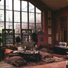 70's bohemian new York loft