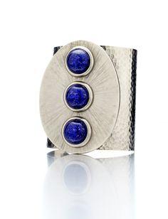 lapis stone cuff :: love!