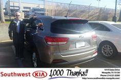 https://flic.kr/p/MW1Mau   #HappyBirthday Jerry from Afshin Khodadad at Southwest Kia Mesquite!   www.deliverymaxx.com/DealerReviews.aspx?DealerCode=VNDX