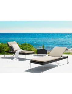Sika Design a l'art de nous faire envie. Ce bain de soleil en fibres synthétiques Sika tressées à la main est un must pour se détendre. https://www.jardin-concept.com/p-bain-de-soleil-reglable-chocolat-45-5212.html