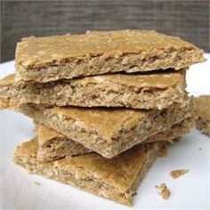 Peanut Butter Banana Protein Bars - Allrecipes.com