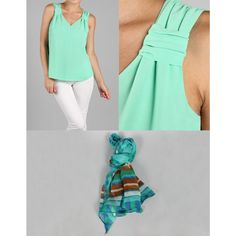 Check out this cute blouse and scarf for the Deal of the Day!  KrisandKate.com