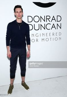 Actor Cory Michael Smith attends the EFM Engineered For Motion Spring/Summer 2018 Runway Show at Skylight Clarkson Square on July 12, 2017 in New York City.