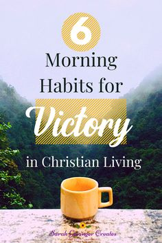 Let's look at the best morning habits the world uses that we can easily adapt for Christian living, and make them even better. #habits #morningperson #christianliving #morning Psalm 25 5, Psalms, Christian Living, Christian Faith, List Of Habits, Hope In Jesus, Jesus Teachings, Morning Habits, Christian Encouragement