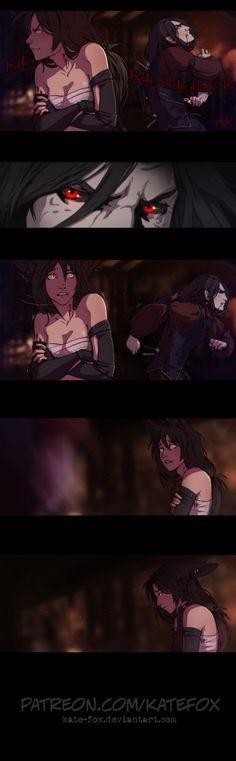 Offense by Kate-FoX on DeviantArt Character Inspiration, Character Art, Character Design, Manga Anime, Anime Art, Vampire Masquerade, Wolf Love, Fanart, Fantasy Art