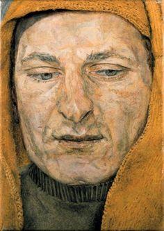 Man in a Headscarf (also known as The Procurer), 1954 Lucian Freud. Dang, Freud was good. Sigmund Freud, Lucian Freud Paintings, Antoine Bourdelle, L'art Du Portrait, Robert Rauschenberg, Artists And Models, Edward Hopper, David Hockney, Art Moderne