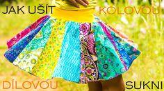 Caramilla Easy: Jak ušít kolovou dílovou sukni (i těhotenskou) na obyčej...