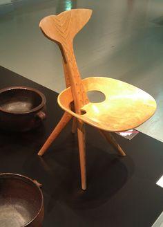 Tapio Wirkkala; Kala Chair. Vintage Furniture Design, Stig Lindberg, Danish Furniture, Chair Bench, Global Design, Mid Century Modern Design, Ceramic Artists, Chair Design, Scandinavian Design