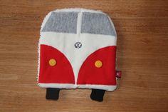 Knistertücher - Knistertuch Bulli - ein Designerstück von kleine-blechtrommel bei DaWanda