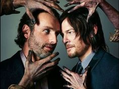 Photographs by John Russo Andrew Lincoln, Norman Reedus, TWD