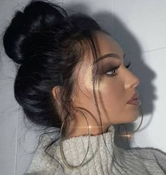 Beauty Can Be Achieved With These Tips Glam Makeup, Love Makeup, Simple Makeup, Beauty Makeup, Makeup Looks, Hair Makeup, Hair Beauty, Glamorous Makeup, Coiffure Hair