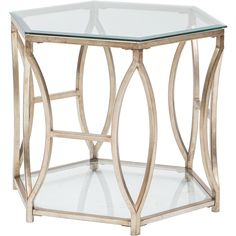Nevelson Hexagonal Side Table $449.00