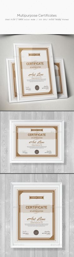 Multipurpose Certificates - Certificate Template PSD Download here: http://graphicriver.net/item/multipurpose-certificates/11668588?s_rank=167&ref=yinkira
