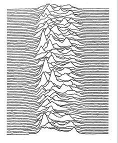 Les montagnes et les lignes