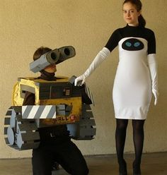 WallE and Eve couple costume