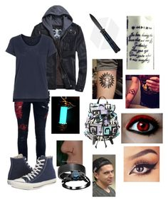 """""""Alexander's Outfit"""" by leeluma ❤ liked on Polyvore featuring L.G.B., rag & bone, Converse and Blue Nile"""