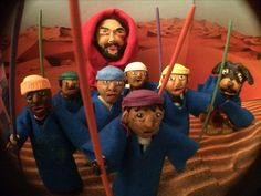 VHS Vic x David Choe claymation still