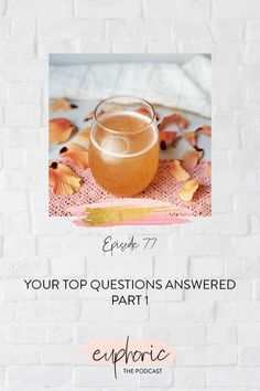 In today's episode of Euphoric The Podcast, Karolina answers the most common questions she hears when it comes to alcohol and an alcohol-free lifestyle. In part 1, she takes on the role of alcohol-free drinks (are they okay?) and how to answer whether or not you're an alcoholic. Get excited about the growing alcohol-free drink movement and why the paradigm of alcoholic versus normal drinker is exactly the black and white thinking the alcohol industry wants you to believe. Black And White Thinking, High Touch, Today Episode, Change Your Mindset, Transform Your Life, Question And Answer, Get Excited, Alcohol Free, Self Development