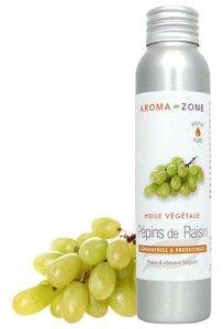 De l'huile de pépins de raisin contre les pellicules
