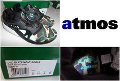 fe93c694e92b ATMOS x PUMA Disc Blaze Camo Trainers Sneakers 36306001 OG DS NEW UK 8 EUR  42