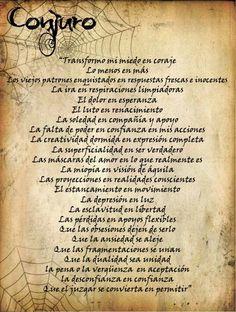 Conjuro Bolsita de la Liberaciones Este es un Ritual muy fácil pero muy efectivo. Aconsejo realizarlo en la noche del Solsticio de Invie...