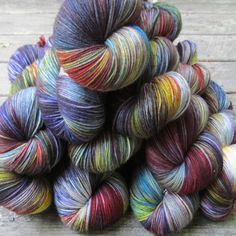 Rainbow - Polydactyl Set | Miss Babs Hand-Dyed Yarns & Fibers, Inc.