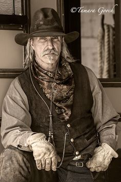 The face of today's American Cowboy