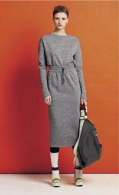 Mother of Pearl Dress #grey #sweater #minimal #dress