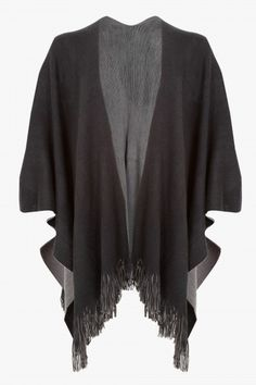 KNITTED REVERSE SHAWL