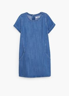 Vestido denim soft
