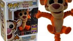 b120e61a9d7 Funko POP Vinyl Tigger Flocked Summer Convention No 288 Unboxing!Review  Disney Winnie The Pooh