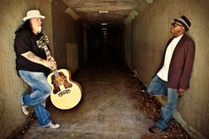 Smokin' Joe Kubek (left) and Bnois King.