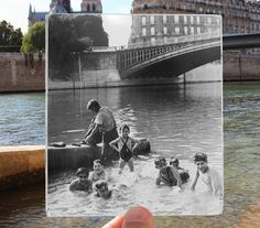 Photographer Julien Knez's work brings Parisian history to life
