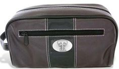 Texas Tech Toiletry Bag by Zep-Pro. $23.80. Genuine leather toiletry bag with gun metal emblem.