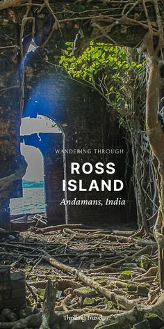 Travel guide to Ross Island in Andamans, now named Netaji Subhash Chandra Bose island. History of Ross Island, its Ruins, how to reach there India Travel Guide, Asia Travel, Travel Abroad, Travel Guides, Travel Tips, Travel Destinations, Best Places To Travel, Places To Visit, Bose